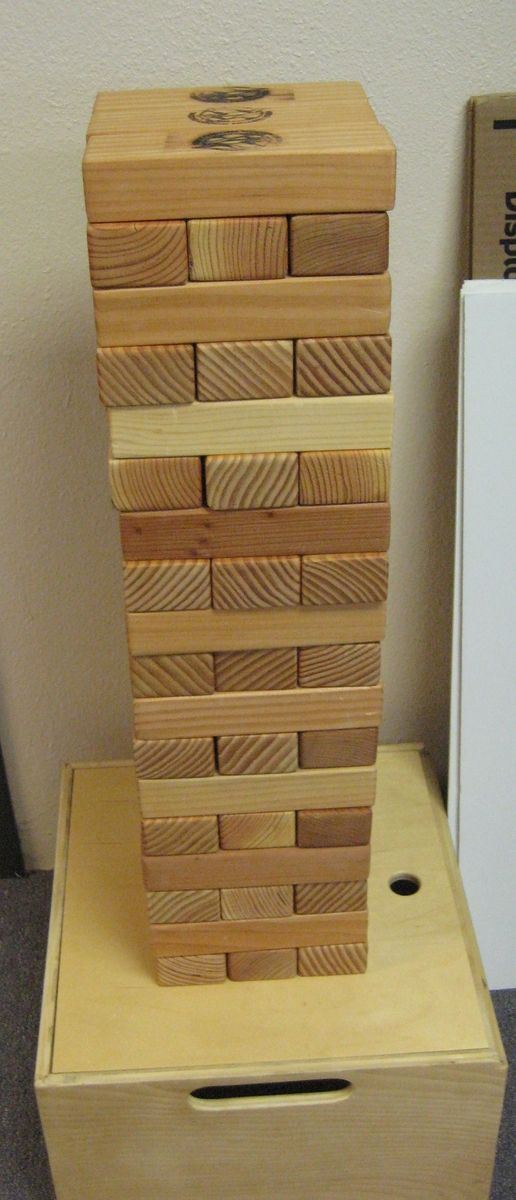 Giant Wood Block Game