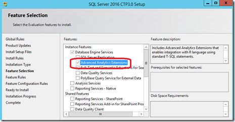 Introducing Microsoft SQL Server R Services #introducing #microsoft #sql #server #r #services,r,sql #r #services,sql2016 http://hawai.remmont.com/introducing-microsoft-sql-server-r-services-introducing-microsoft-sql-server-r-servicesrsql-r-servicessql2016/  # Introducing Microsoft SQL Server 2016 R Services With the release of CTP3 SQL Server 2016 and its native In-database support for the open source R language you can now call both R, RevoScaleR functions and scripts directly from within a…
