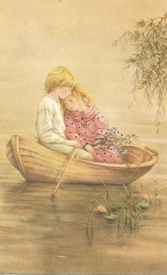Oh, Lisi! I say this is one of you're best, this sweet couple, boating!