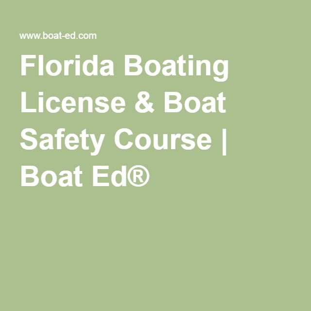 Florida Boating online License & Boat Safety Course | Boat Ed® $29.50