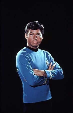 "Dr. Leonard ""Bones"" McCoy, ""Dammit Jim! I'm a doctor not a brick layer."""