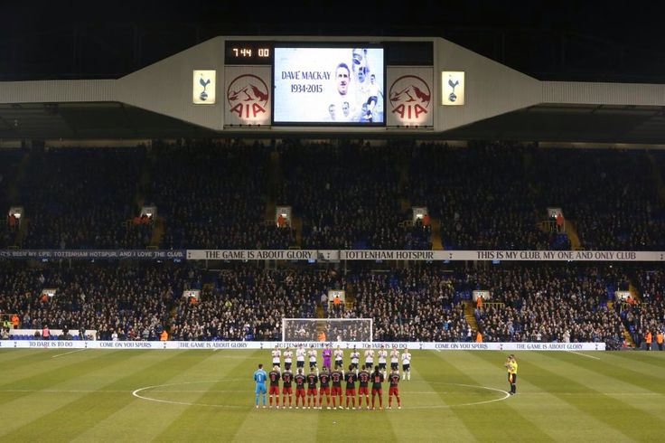 Tribute to Dave Mackay at White Hart Lane, March 4th 2015