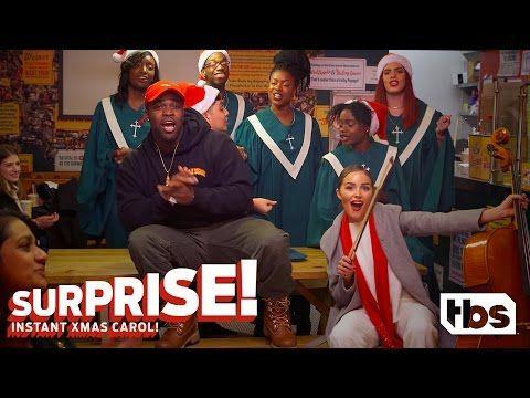 "Shaq is Ludacris' ""Little Helper""! | SURPRISE! INSTANT XMAS CAROL! | TBS - YouTube"