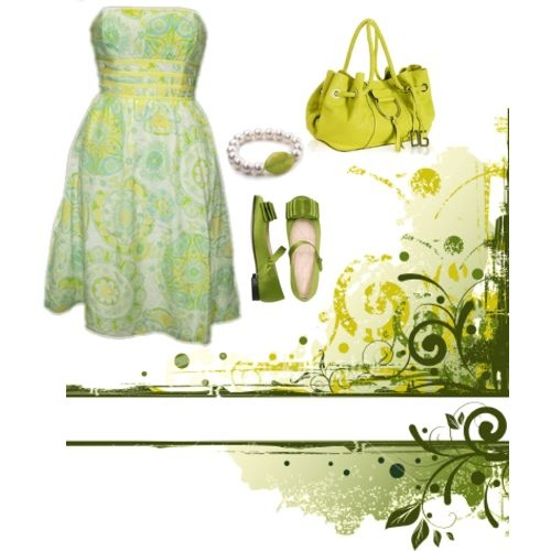 Green: Adorable Outfits, Green Outfits, Green Br, Green Awesome, Art Collage, Sundresses Ftw, The Dresses, Green Ohhh, Green Happy