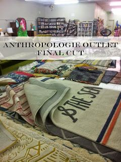 Final Cut - Anthropology outlet store