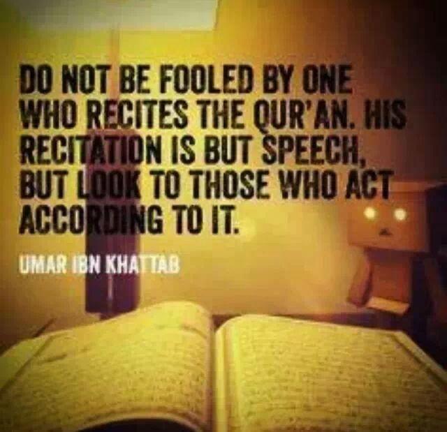 Quran recitation - hadhrat Umar bin khattab. RA