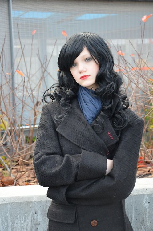 Female Sherlock cosplay