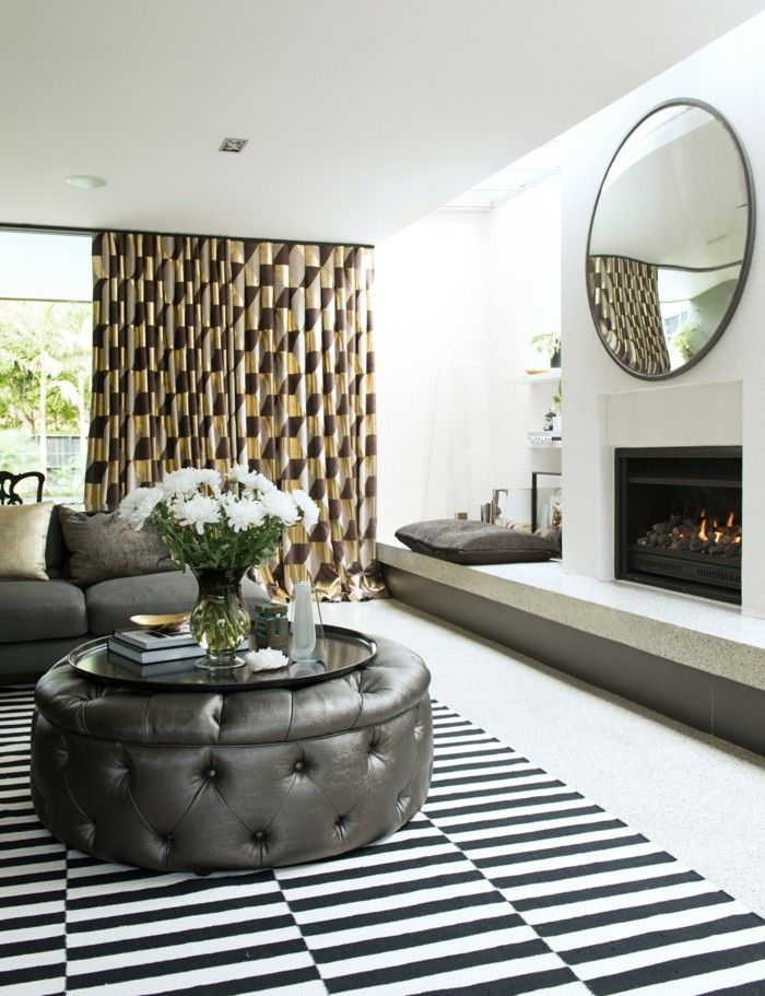37 besten Vorhang-Ideen Wohnzimmer \/ Stube Bilder auf Pinterest - gardinen fur wohnzimmer modern