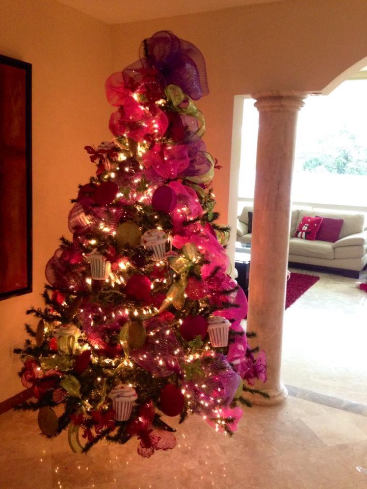 73 best arboles de navidad images on pinterest christmas - Arboles de decoracion ...