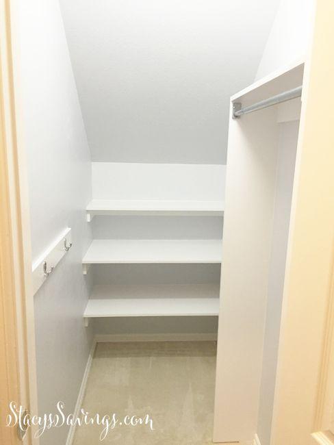 Small Cupboard Storage Under Stairs