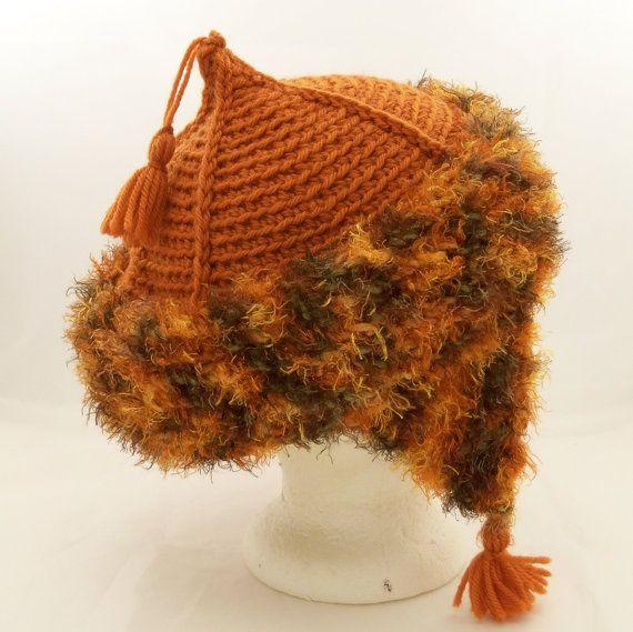 Mongolian Hat Ear Flaps Tassels