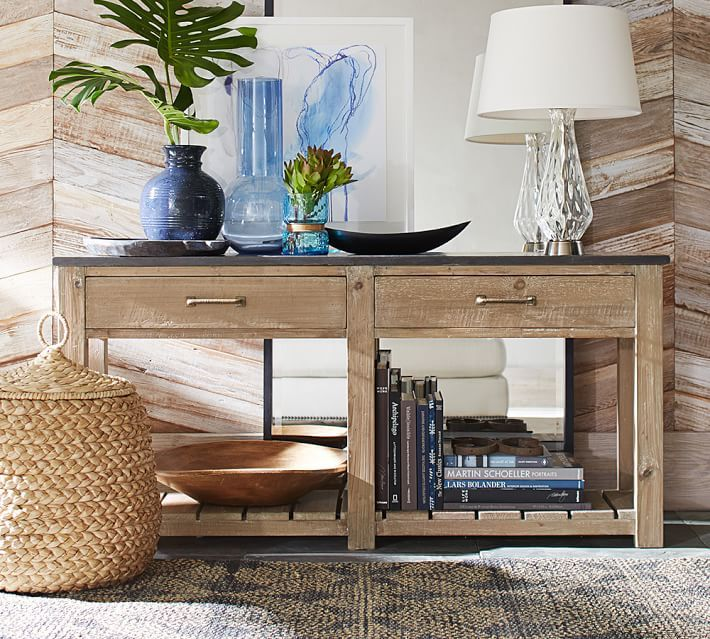 Window Console Table ~ Best images about pottery barn living on pinterest