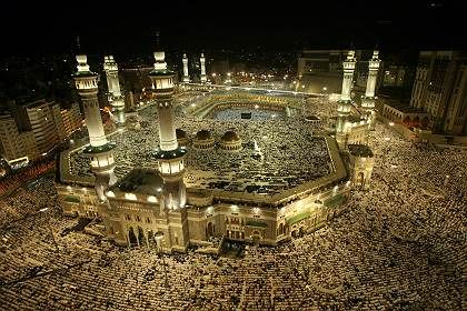 all those dots, are people! Amazing! #mecca #prayer #islam