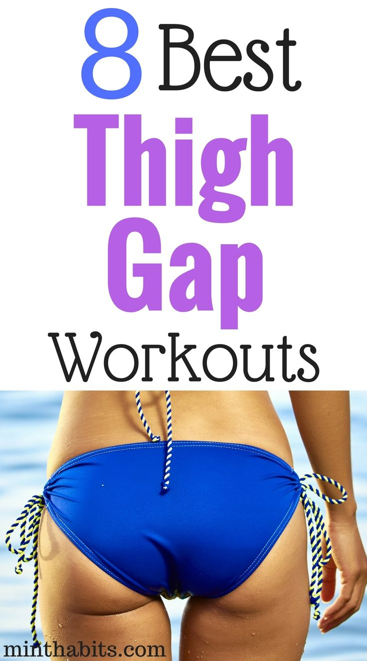 Wondering how to get a thigh gap fast? Get the best thigh gap workout here and get sexy leg gaps with these 8 best thigh gap exercises.