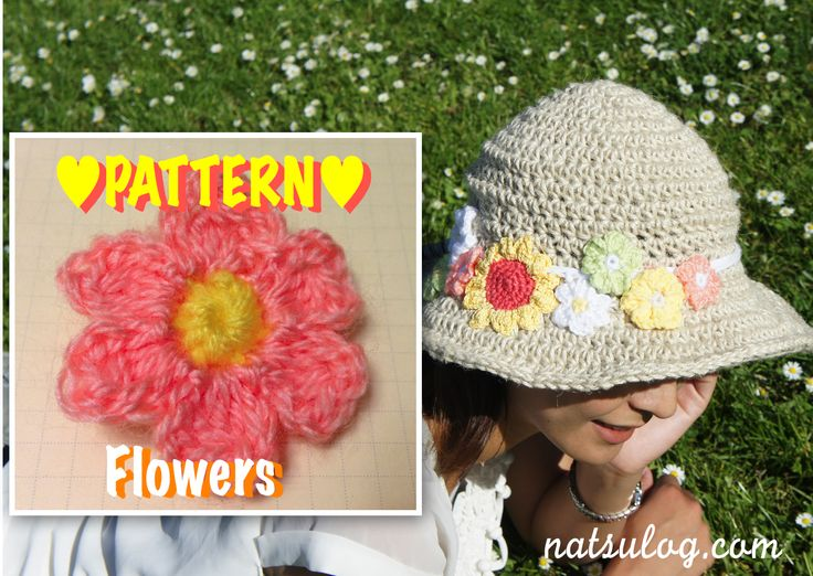 【For Sale】Step-by-step Crochet Pattern: Flowers