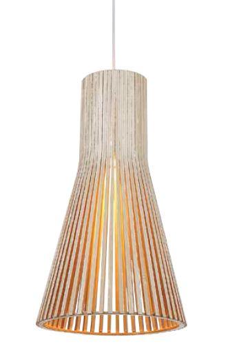 Lustre em Metal e Madeira SU006A - Bella 283