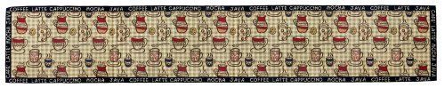 Park B. Smith Rustic Cafe Tapestry Table Runner, 12-1/2 by 72-Inch by Park B. Smith. $19.22. Detailed tapestry construction suitable for many settings. Your favorite relaxing beverage can likely be found on this stylish 6 foot long runner. Machine washable. Cotton rich blend. Imported with coordinate placemats available. 70% Cotton / 30 % Polyester. The Rustic Cafe 6-foot table runner from Park B. Smith invites you to imbibe on your favorite relaxing beverage. The detailed tapest...
