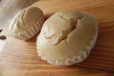 きな粉風味♪ふんわりもちもち蒸しパン