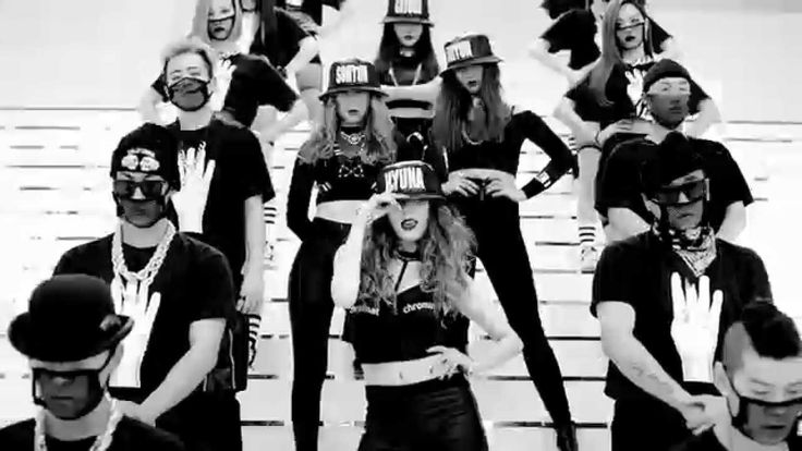 4MINUTE - (Crazy)looooovvvve it  The song and choreography makes me want to start exercising again lol