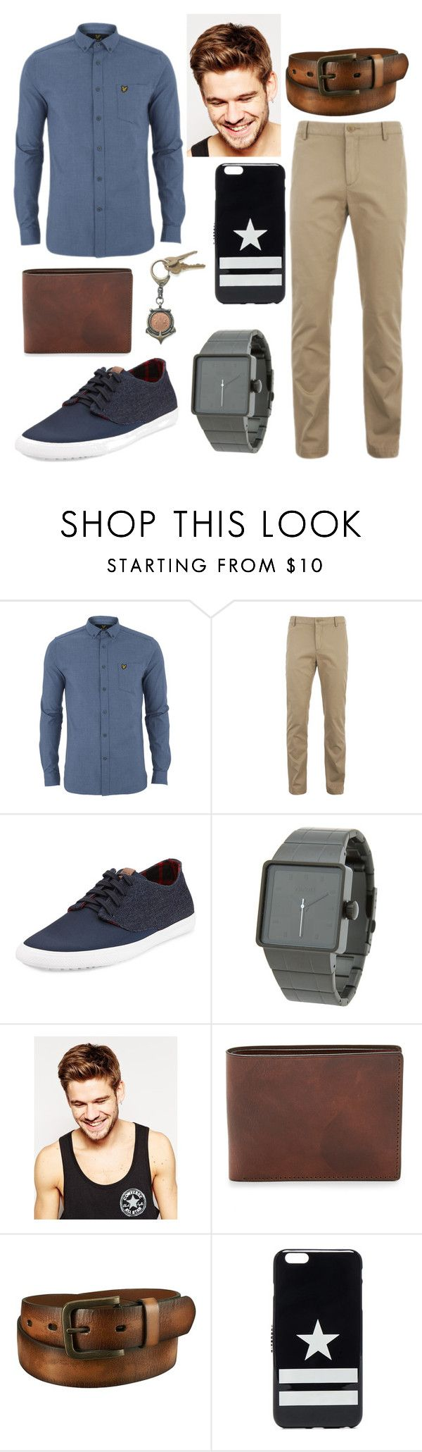 """My first men outfit"" by nikki15649 ❤ liked on Polyvore featuring Lyle & Scott, Lacoste, Ben Sherman, Nixon, Toni & Guy, Uniqlo, Givenchy, American Coin Treasures, mens and men"