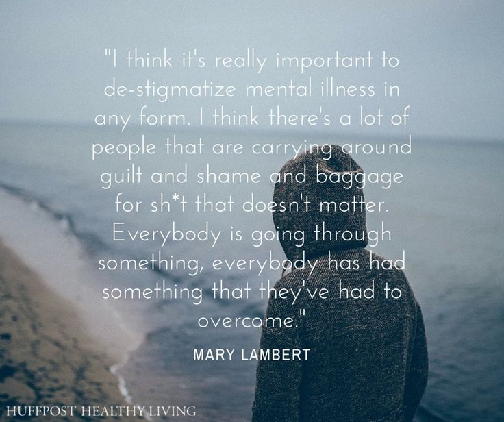"""""""Everybody is going through something, everybody has had something that they've had to overcome."""" -Mary Lambert"""
