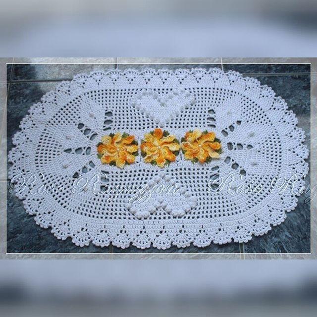♥ Venha aprender a confeccionar lindas peças em crochê com videoaulas gratuitas!!!! ♥ www.youtube.com/c/RoseRagazzonCroche #crochet #croche #crochê #DIY #tapete #barbante #videoaula #tutorial #instacrochet #instadiy #instacrochê #RoseRagazzon #handmade #artesanato #pap #passoapasso #TextilSãoJoão #JokaNovelos #projetoAV