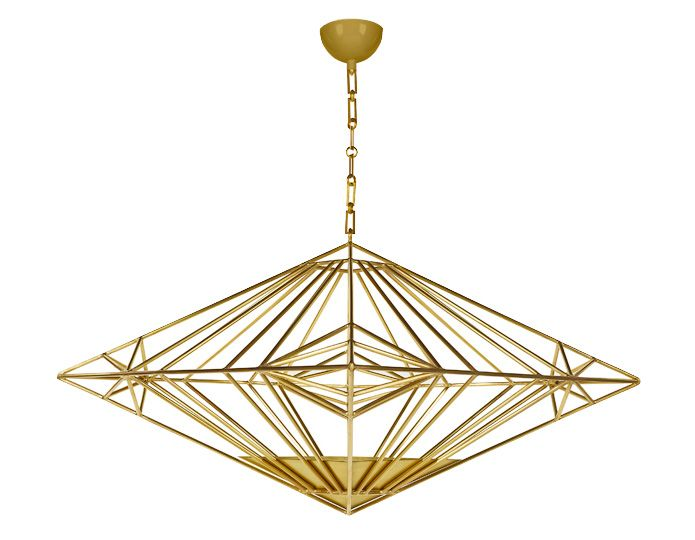 DPAGES MAY FAVORITES - Pari Pendant Light in brass
