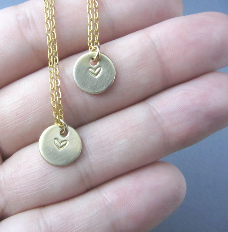 cute best friend jewelry | Cute Best Friends Necklace, or Mom & Daughter Necklace Set - Deals by ...