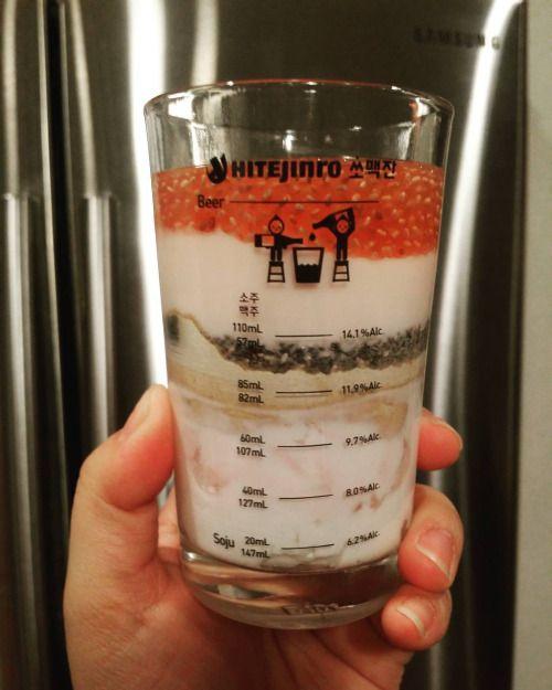 http://ift.tt/1OeNXHO   No drinking the next couple months during this diet detox. Using my Korean soju+beer glass as a measuring cup instead.  두달 디톡스 할동안 술 안마시기로 했다~~ 대신 여기다가 요거트 선식을 챙겨 먹기로…  1. Greek yogurt 2. 호두 검은콩 미숫가루 3. Chia seeds 4. Kefir Probiotic 5. Kombucha  #dinner #detox #yogurt #chiaseeds #kefir #cleaneating #healthy #diet #fitness #mealplan #nomnom #foodie #다이어트 #디톡스 #저녁 #먹스타그램 #선식 #건강식 #술스타그램 #피트니스 #cheers #happynewyear @fitnessgirlsmotivation  Also check out  http:..
