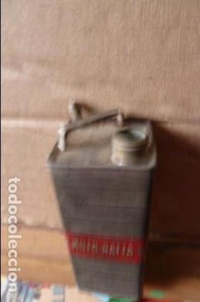 Juguetes antiguos y Juegos de colección: bote moto nafta de lata antiguo de juguete 8 cm x3 cm - Foto 5 - 82291668