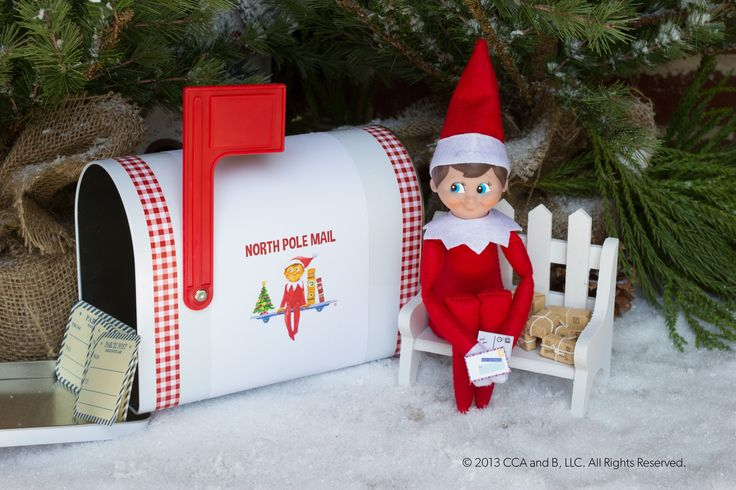 You've got mail! | Elf on the Shelf Ideas | Pinterest ...