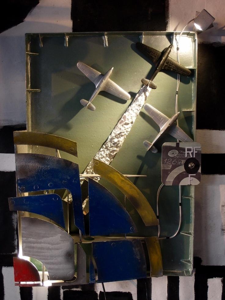 303 squadron memorial LED wall lamp by Fragmen www.fragmenart.com