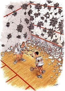 001 squash cartoon Motivation / Fitness Pinterest