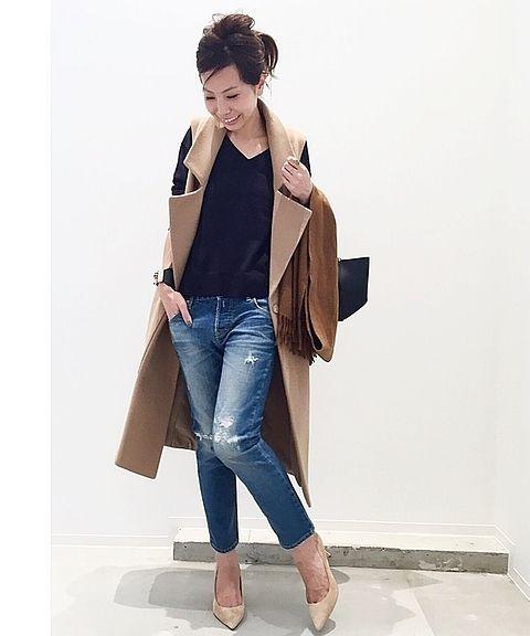 """今すぐ着れる """"新型ベーシック"""" <br />ベーシックなスタイル・ディテールに、着丈は膝下で合わせやすく、ややタイトなシルエット!Tシャツやニットに着ても素敵です。 <br />ちょっと肌寒い季節にもストールをプラスで! <br /> <br />ーーーーーーーーーーーーーーーーーーーーーーーーーーーーーーーーーーーーーーーーーーーーーーーーーー <br /> <br />商品番号:16010560006330 <br />カラー:キャメル <br />サイズ:フリー <br />価格:¥49,000+tax <br /> <br />L'Appartement 店舗:販売中 <br />スタイルクルーズ:9/16(金)19:00~販売開始予定 <br /> <..."""