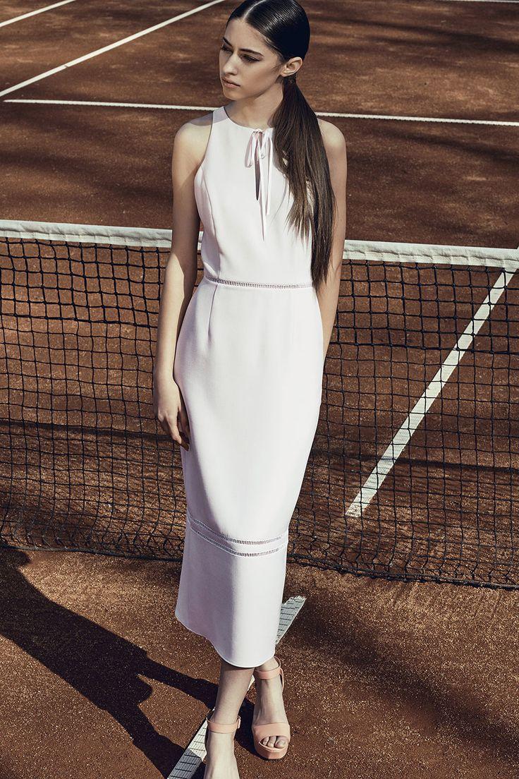 Harper Dress #pencildress #longmididress #ribbon