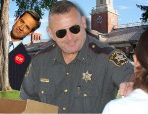 Sheriff Jeff Christopher of Sussex County, Delaware, when he was elected to the office in 2010, thought he was handpicked by the people to represent them