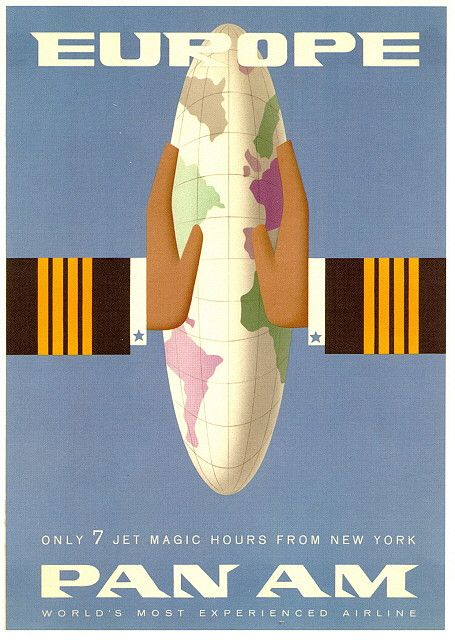 """Only 7 k jet magic hours from New York"" 