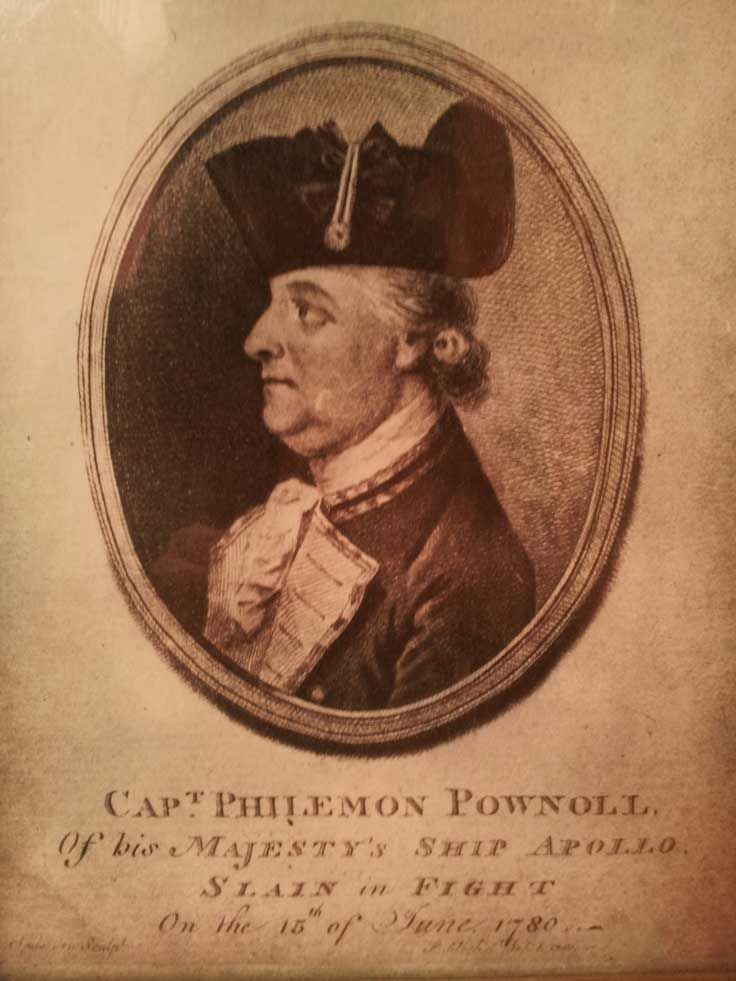 Captain Philemon Pownell - creator of Sharpham House as it is today.  Spring 2015  Pin us at www.pinterest.com/sharphamtrust  Like Sharpham Trust at www.facebook.com/SharphamTrust  Follow us @SharphamTrust  Visit us at www.sharphamtrust.org
