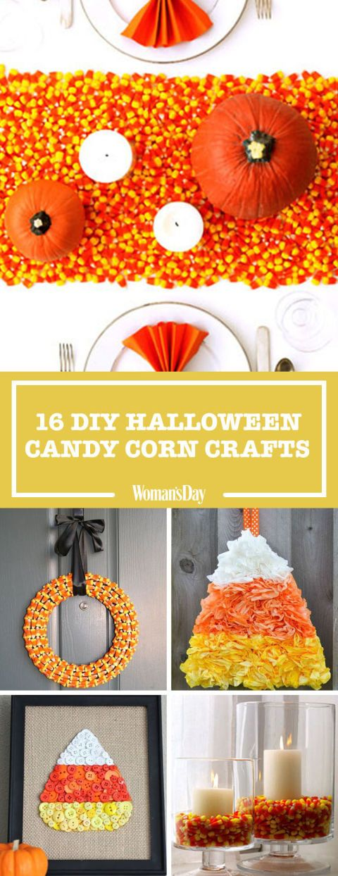 19 DIY Candy Corn Crafts That Double