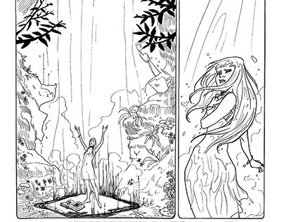"""Check out new work on my @Behance portfolio: """"IKED COMICS PAGES"""" http://be.net/gallery/53462321/IKED-COMICS-PAGES"""