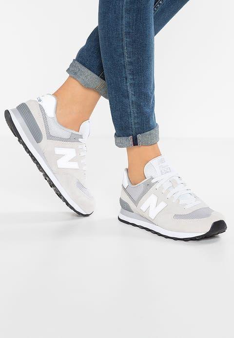 Chaussures New Balance WL574 - Baskets basses - grey gris: 95,00 € chez Zalando (au 30/07/17). Livraison et retours gratuits et service client gratuit au 0800 915 207.