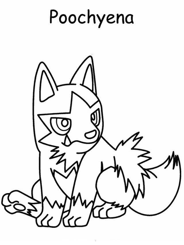 Dibujos para Colorear Pokemon 58 Más