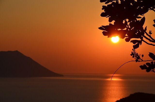 Sunset from Milos island!