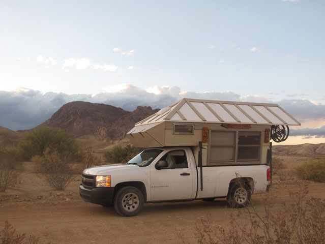 tiny house truck camper shell Pickup Truck Camping Pinterest