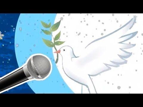 Canta Noche de paz en el Karaoke de Guíainfantil - YouTube