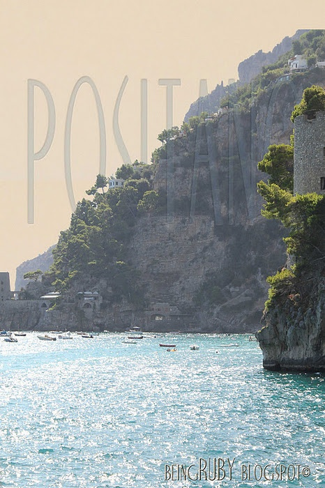 Positano, Italy: The Sea