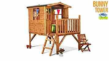 BillyOh Bunny Tower Childrens Wooden Playhouse 6 x 5
