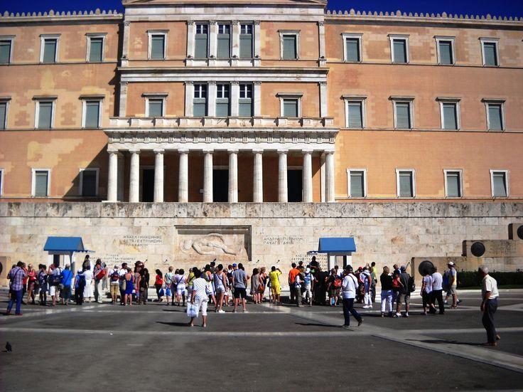 Parlament - Athény - Peloponés - Řecko
