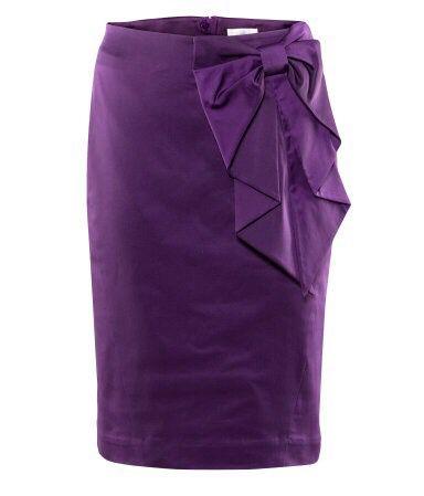 Purple Bow Skirt