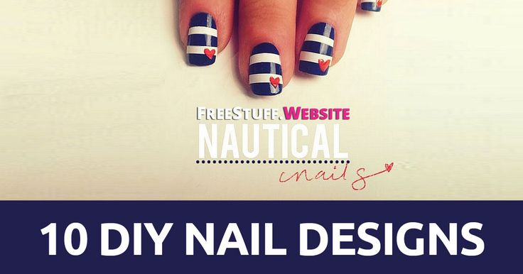 In need of some new ideas for your nails??? Check out these amazing DIY nail designs that you can do with little to no effort at all.